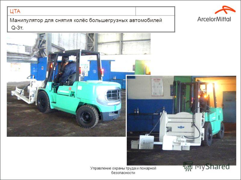 Управление охраны труда и пожарной безопасности ЦТА Передвижная автомастерская на базе шасси ГАЗ-3309.
