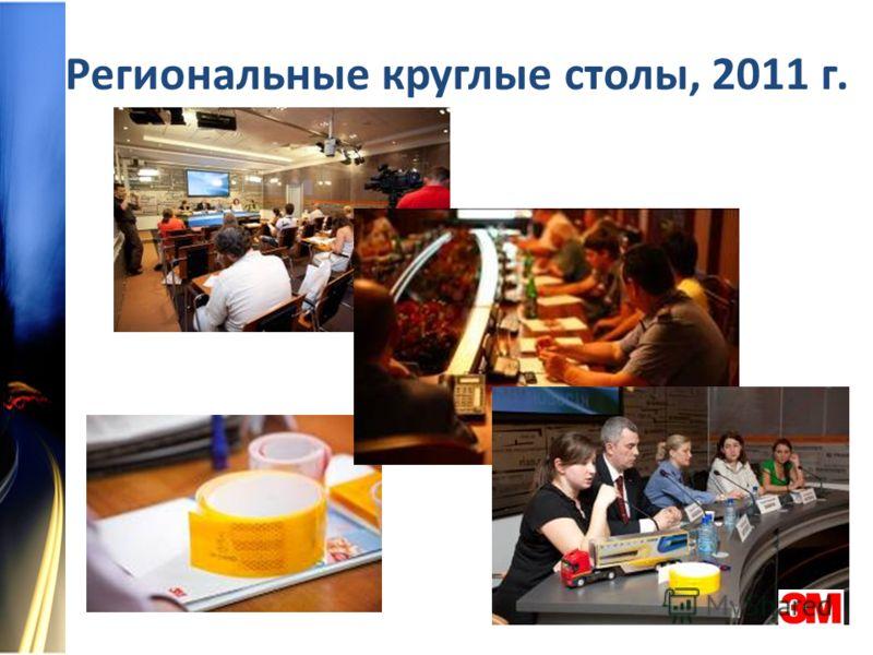 Региональные круглые столы, 2011 г.