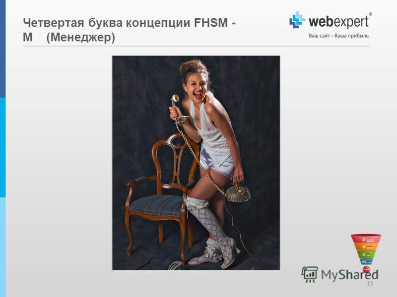 19 Четвертая буква концепции FHSM - M (Менеджер)