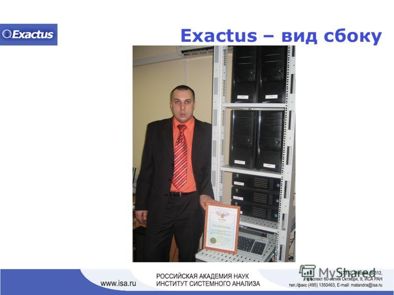 Exactus – вид сбоку
