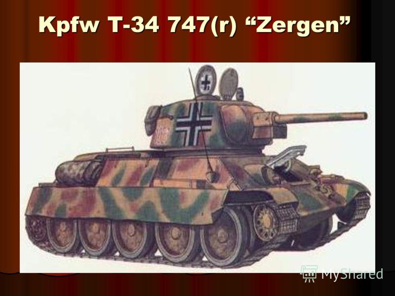 Kpfw T-34 747(r) Zergen