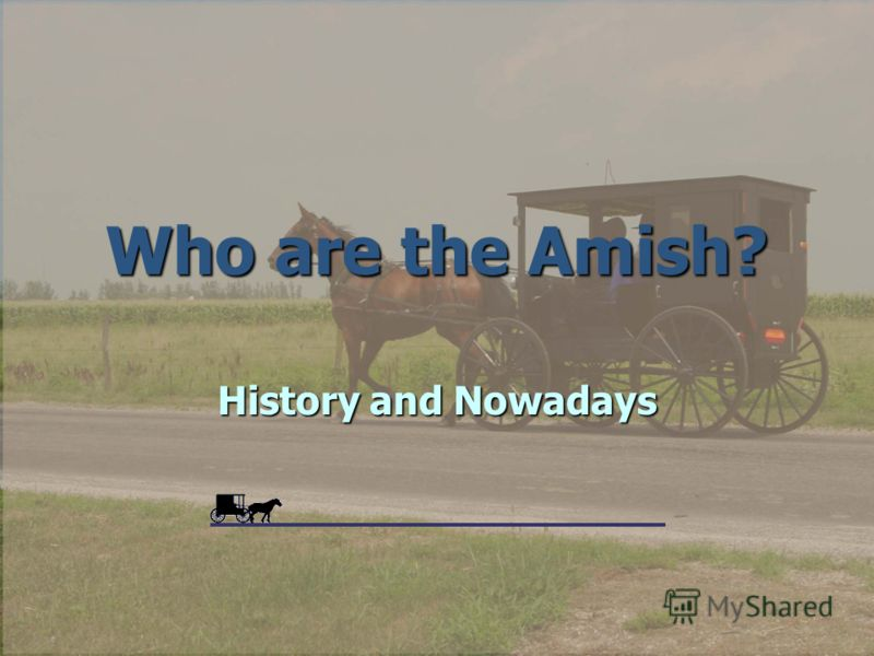 Who are the Amish? History and Nowadays