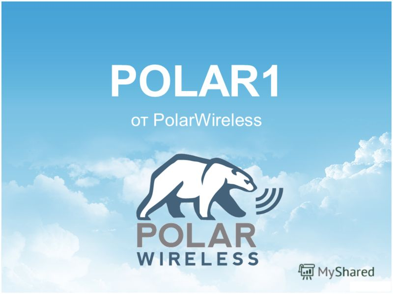 POLAR1 от PolarWireless