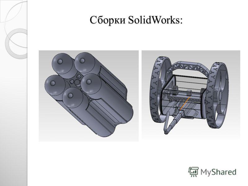 Сборки SolidWorks: