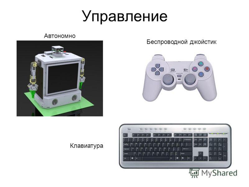 Управление Автономно Беспроводной джойстик Клавиатура