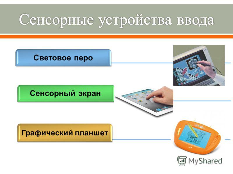 Световое перо Графический планшет Сенсорный экран