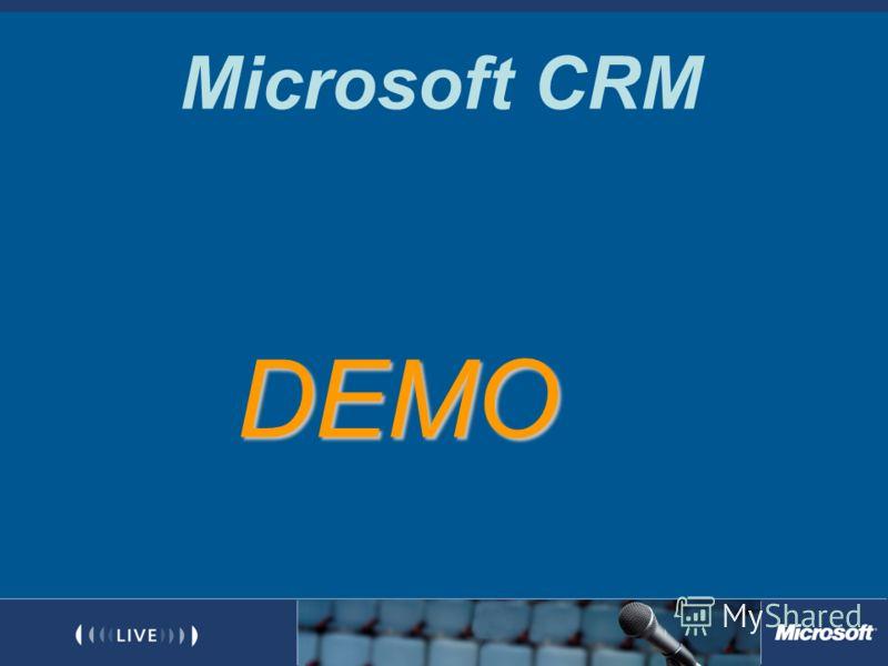 Microsoft CRM DEMO