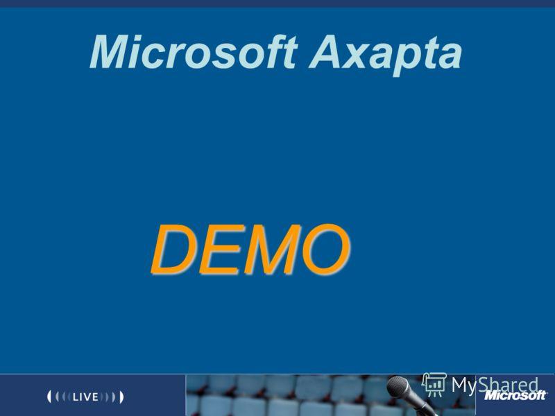 Microsoft Axapta DEMO