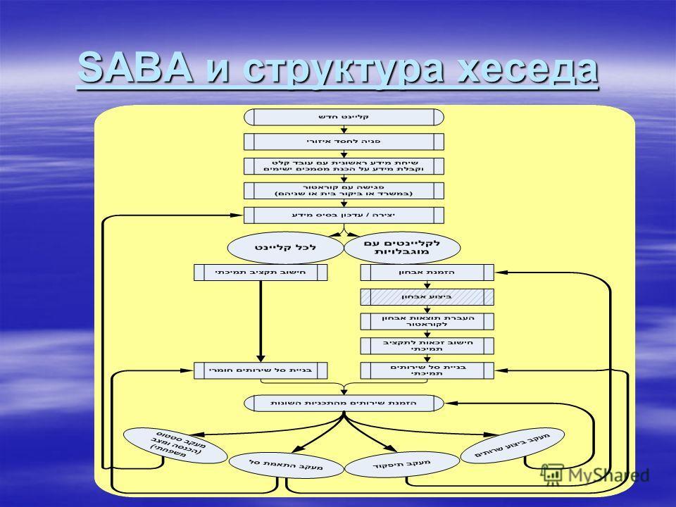 SABA и структура хеседа