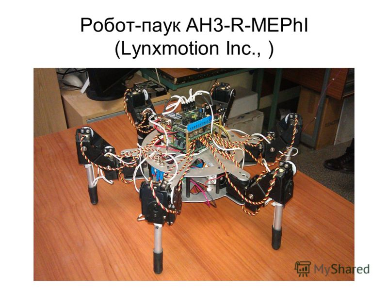 Робот-паук AH3-R-MEPhI (Lynxmotion Inc., )