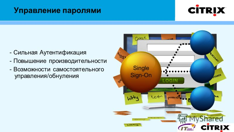 Управление паролями - Сильная Аутентификация - Повышение производительности - Возможности самостоятельного управления/обнуления 9X1CA523U KEVIN Single Sign-On