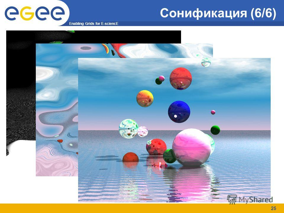Enabling Grids for E-sciencE 25 Сонификация (6/6)