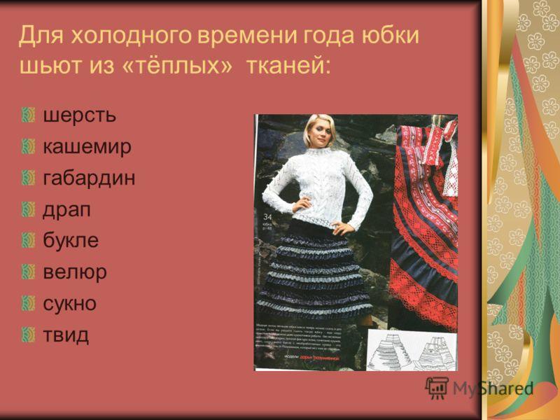 открытый урок по теме юбки:
