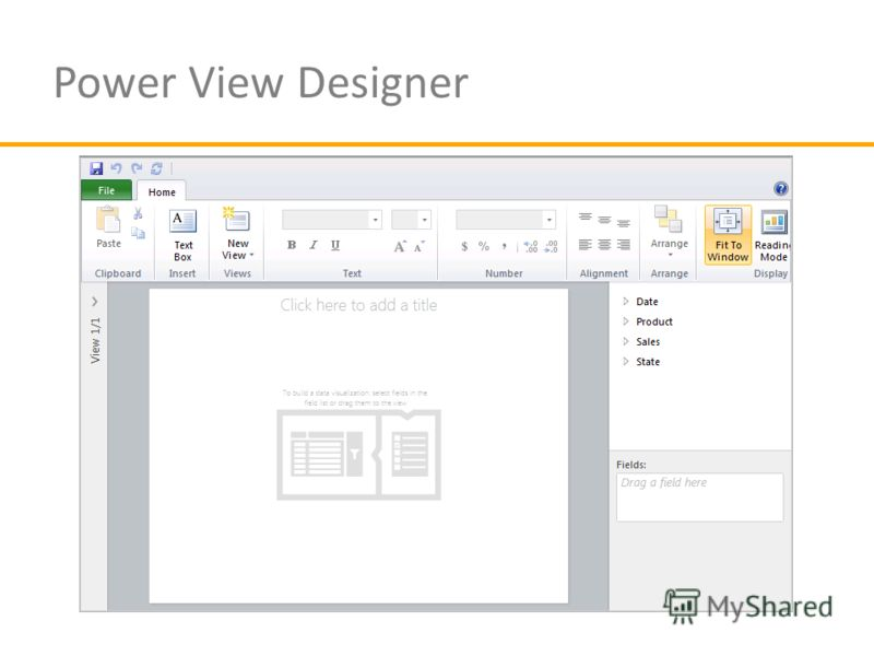 Power View Designer