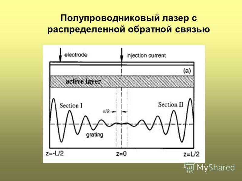 Полупроводниковый лазер с распределенной обратной связью