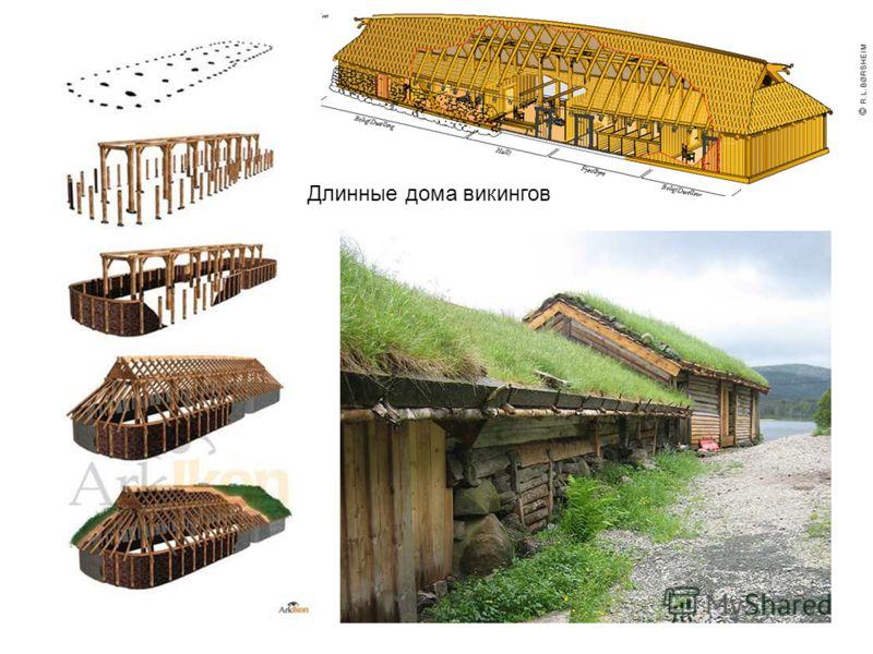 Длинные дома викингов