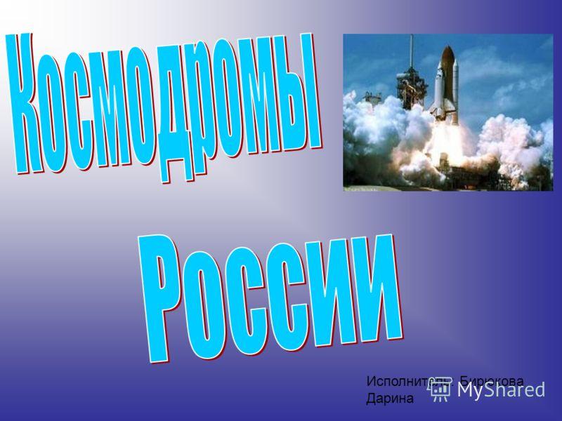 Исполнитель: Бирюкова Дарина
