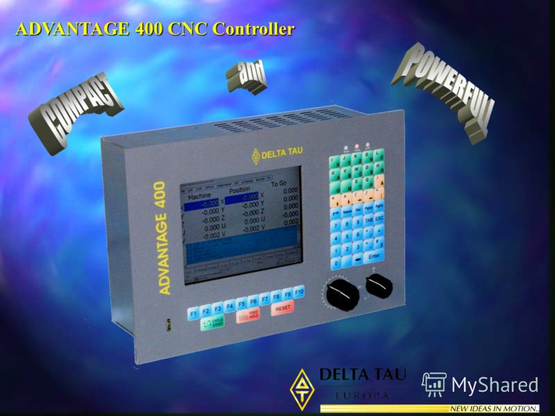 ADVANTAGE 400 CNC Controller