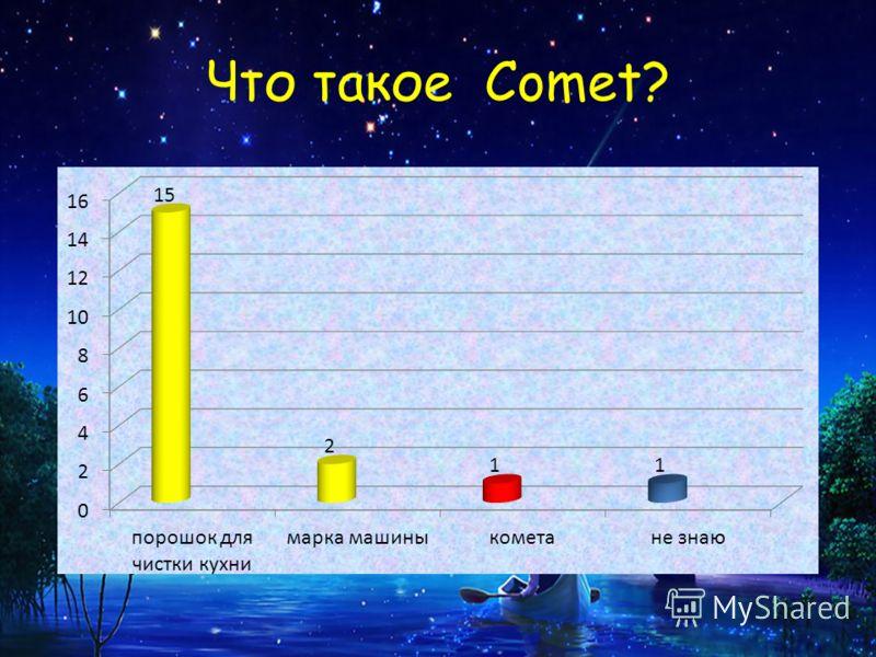 Что такое Comet?