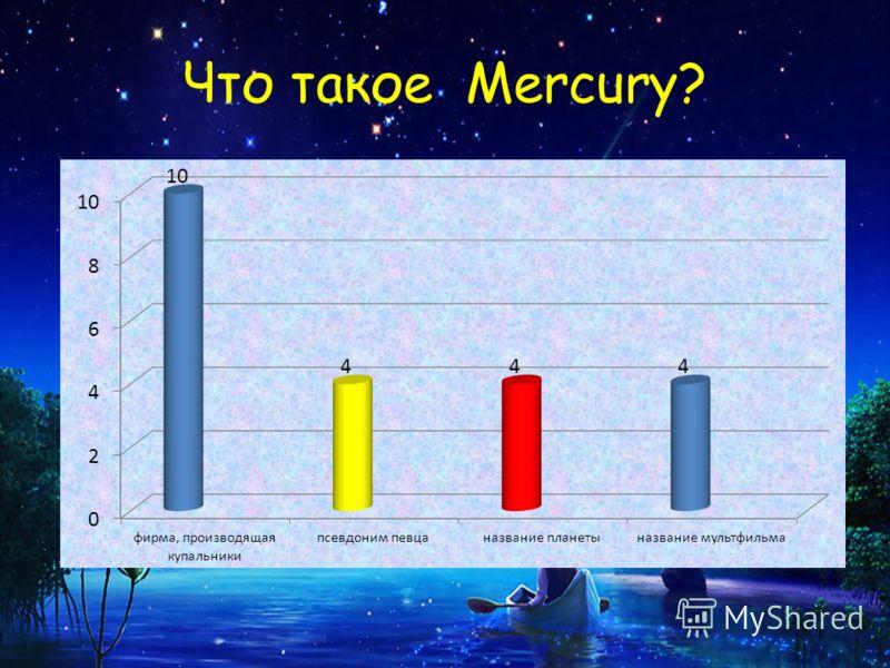 Что такое Mercury?