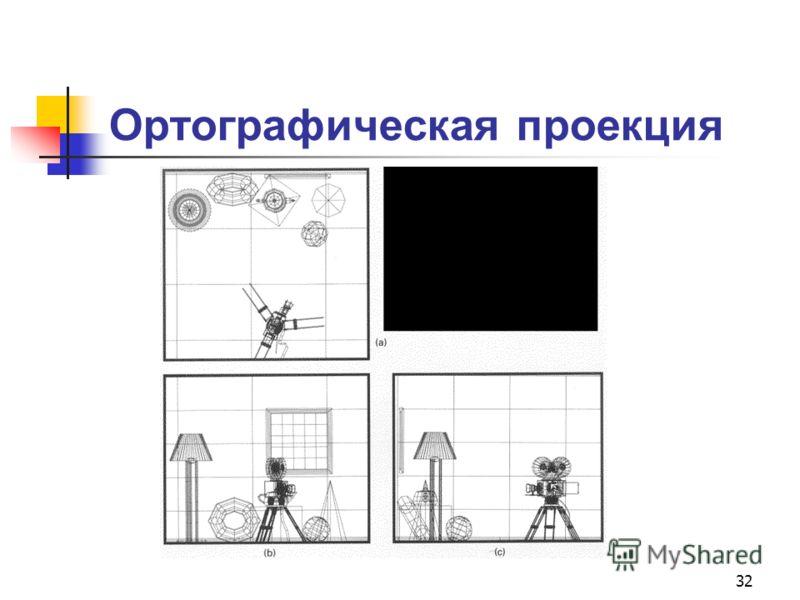 32 Ортографическая проекция