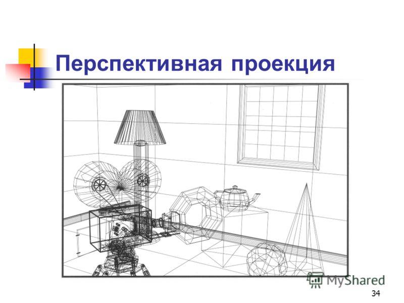 34 Перспективная проекция