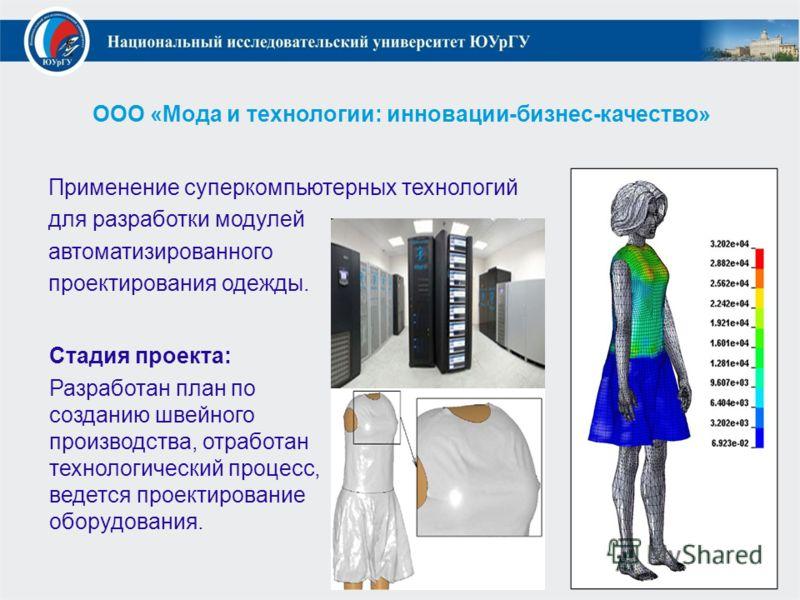 Бизнес план модных одежд