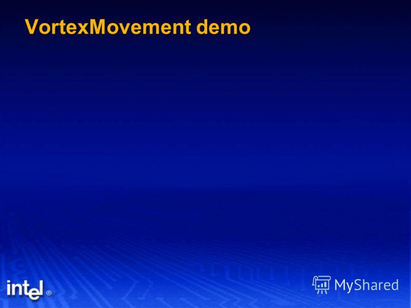 VortexMovement demo