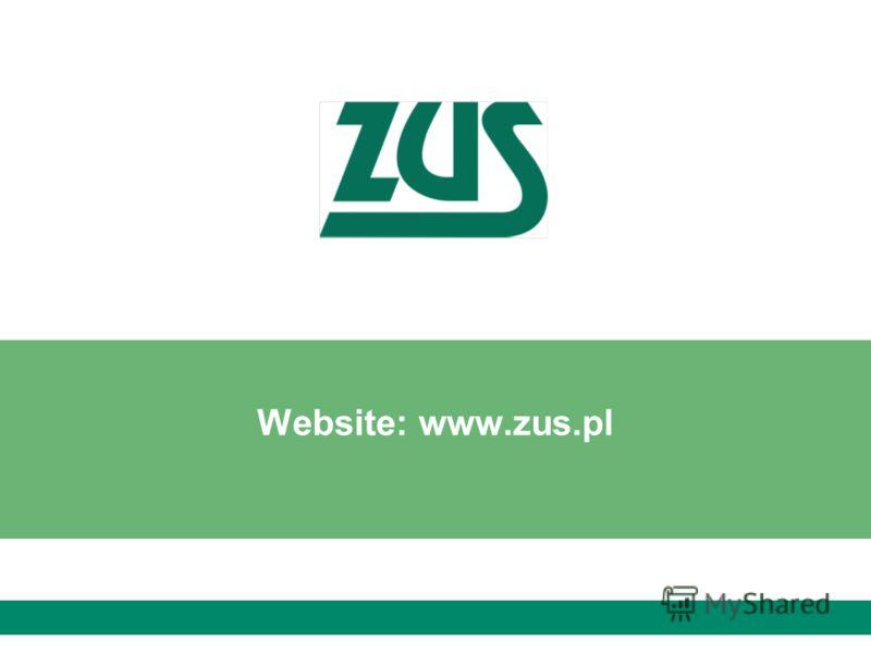 Website: www.zus.pl