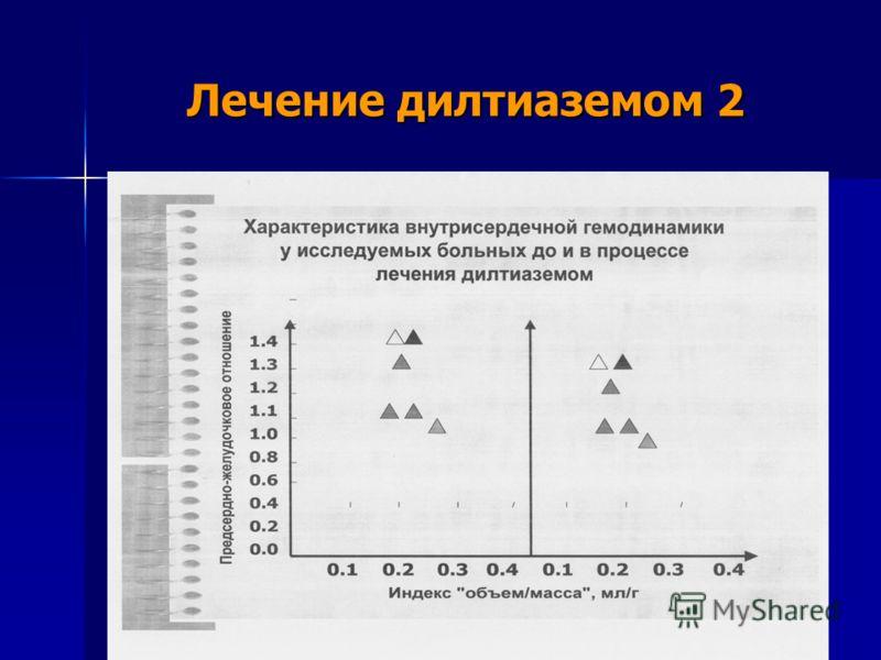 Лечение дилтиаземом 2
