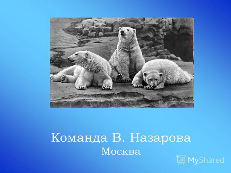 Команда В. Назарова Москва