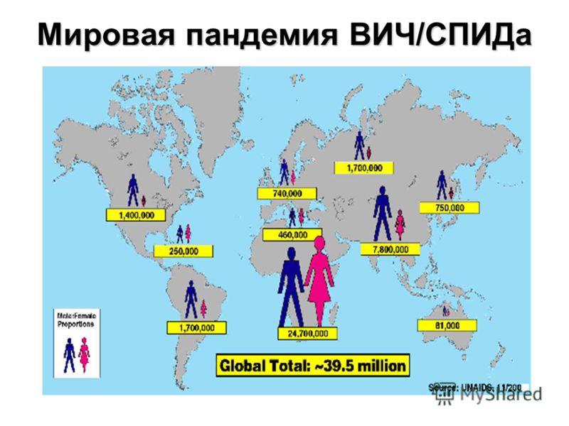 Мировая пандемия ВИЧ/СПИДа