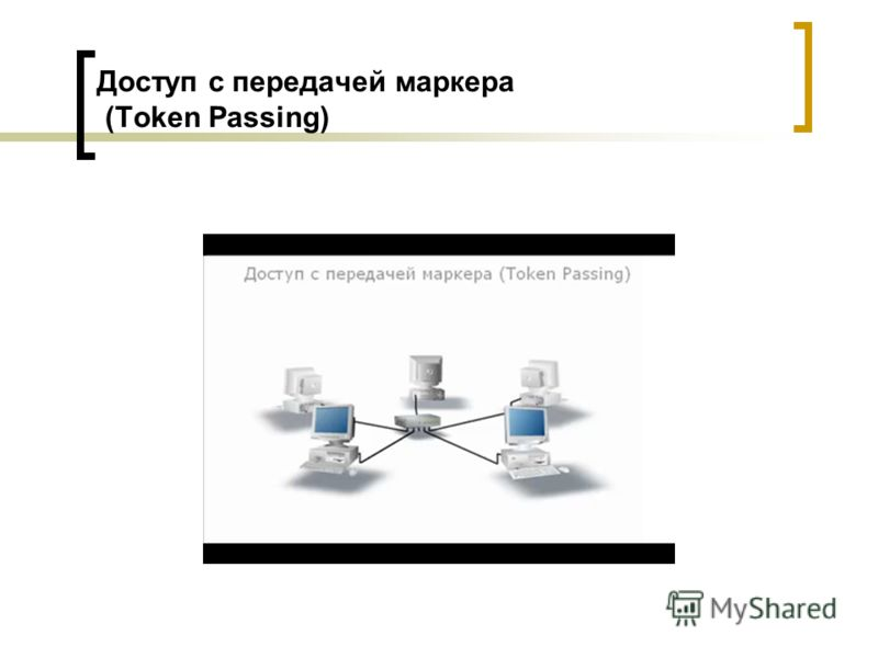 Доступ с передачей маркера (Token Passing)