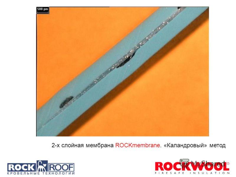 2-х слойная мембрана ROCKmembrane. «Каландровый» метод