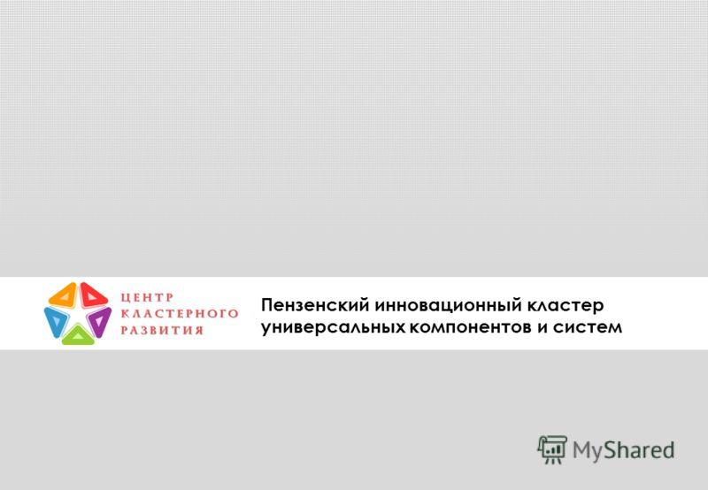 Пензенский инновационный кластер универсальных компонентов и систем