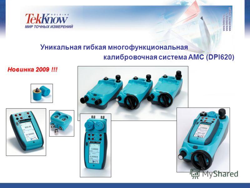 Новинка 2009 !!! Уникальная гибкая многофункциональная калибровочная система AMC (DPI620)