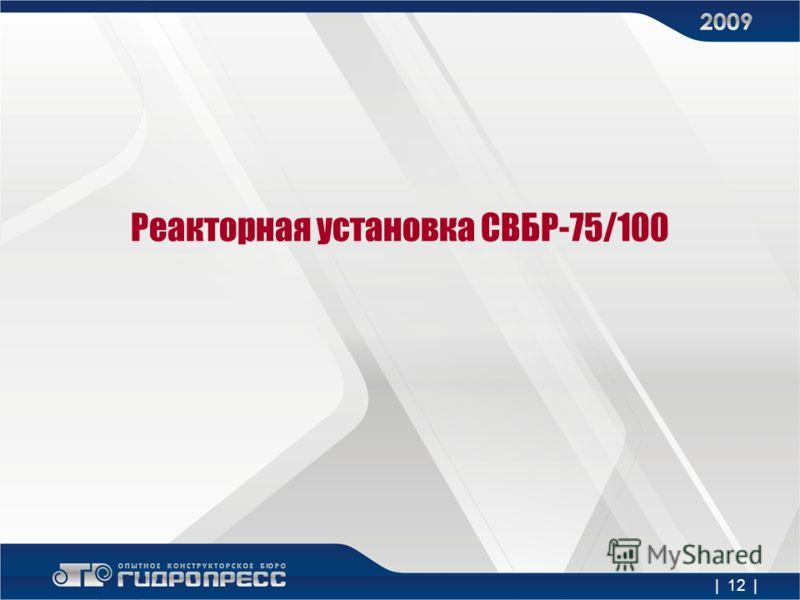 Реакторная установка СВБР-75/100 | 12 |