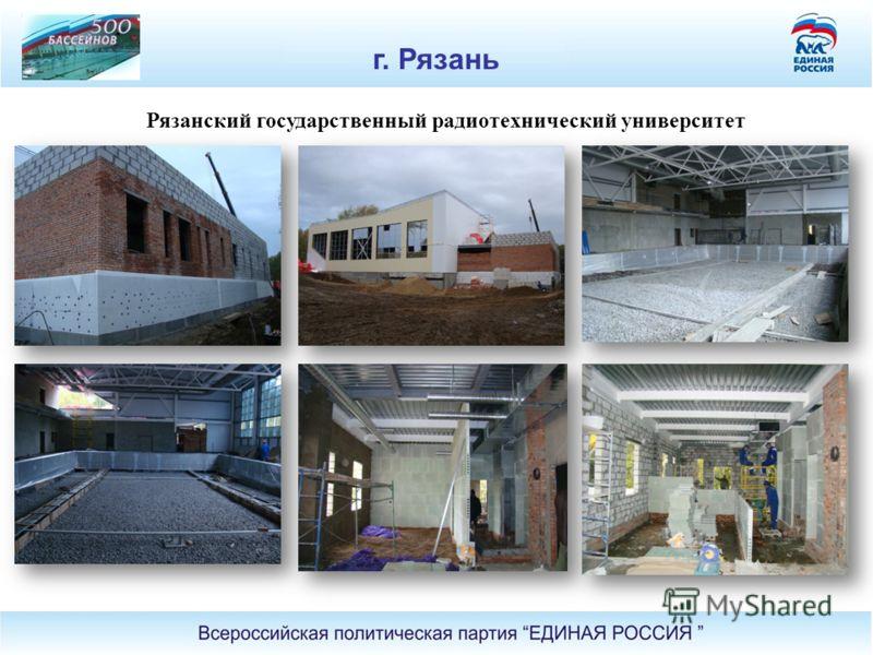Рязанский государственный радиотехнический университет г. Рязань
