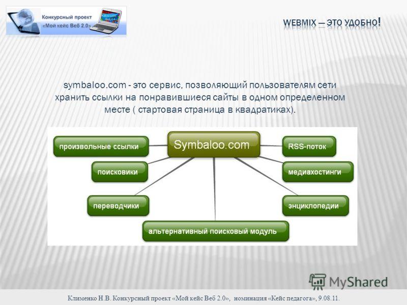 symbaloo.com - это сервис, позволяющий пользователям сети хранить ссылки на понравившиеся сайты в одном определенном месте ( стартовая страница в квадратиках).