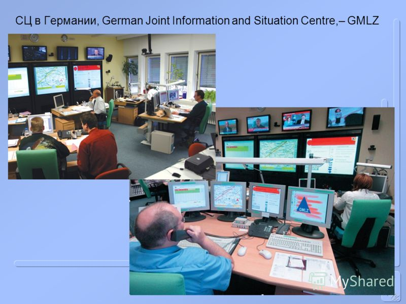 СЦ в Германии, German Joint Information and Situation Centre,– GMLZ