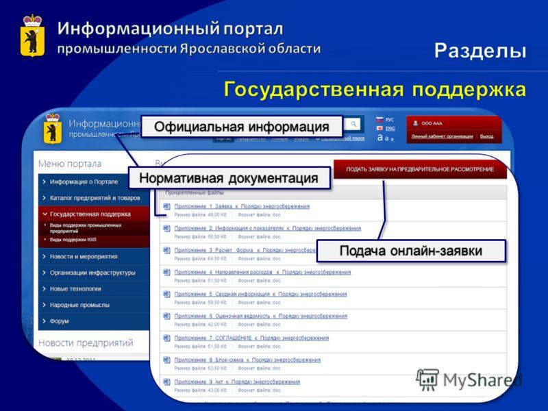 Официальная информацияОфициальная информация Нормативная документацияНормативная документация Подача онлайн-заявкиПодача онлайн-заявки