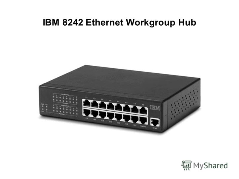 IBM 8242 Ethernet Workgroup Hub