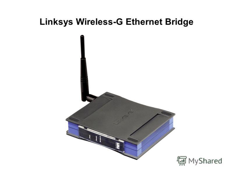 Linksys Wireless-G Ethernet Bridge