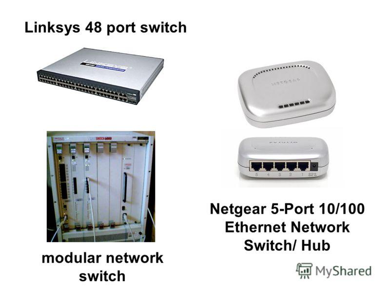 Linksys 48 port switch Netgear 5-Port 10/100 Ethernet Network Switch/ Hub modular network switch