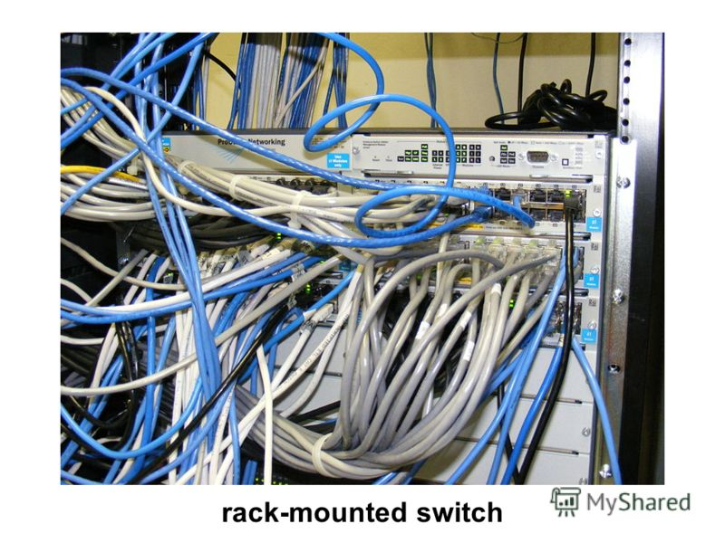 rack-mounted switch