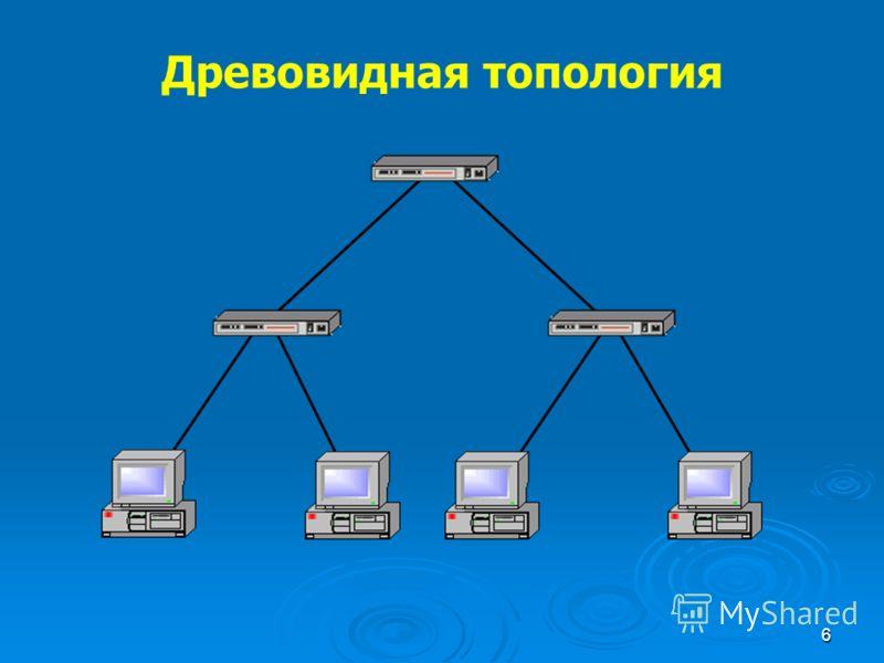 6 Древовидная топология