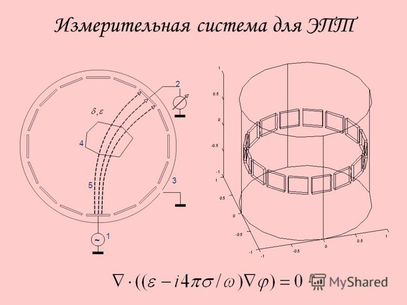 Измерительная система для ЭПТ ~ 2 4 1 3 5 ~ 2 4 1 3 5,,