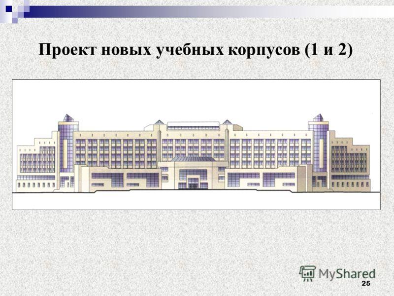 25 Проект новых учебных корпусов (1 и 2)