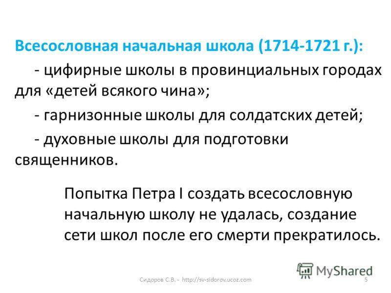 Сидоров с в http sv sidorov ucoz com5