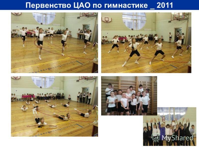 Первенство ЦАО по гимнастике _ 2011